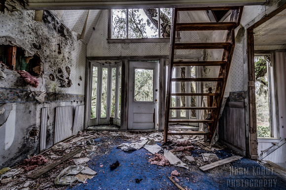 Abandoned Victorian Tree House